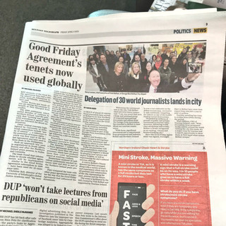 The FPA makes (almost) front page news!