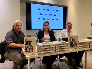 """Book presentation with Lode Desmet and Ed Stourton on """"Blind Man's Brexit"""""""