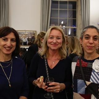 Jane Acton, Deborah Bonetti, Iliana Taliotis