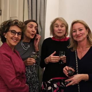 Nazenin Ansari, Tine Van Houts, Laura Dugdale, Deborah Bonetti