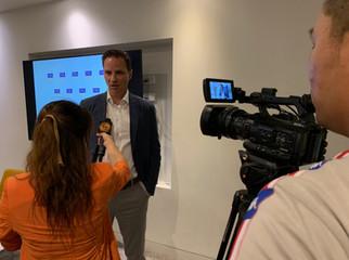 Jason Langrish interviewed by Liping Zhou for Phoenix TV (Hong Kong)
