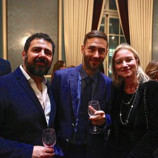 Luis Guimaraes, Timur Siraziev and Deborah Bonetti