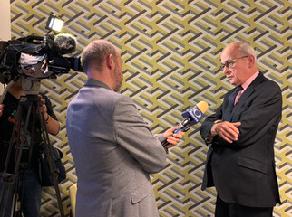 """Televisa Mexico interviewing Lord Kerr, """"father"""" of Article 50"""