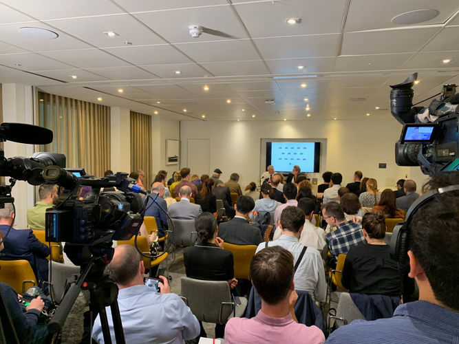 Packed Press Briefing with Stephen Barclay