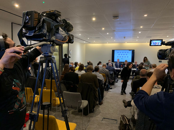 Press briefing with Rt Hon Peter Kyle and Phil Wilson MPs and Lord Kerr