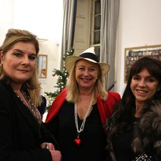 Benedicte Paviot, Katie Cross and Alison Macintosh