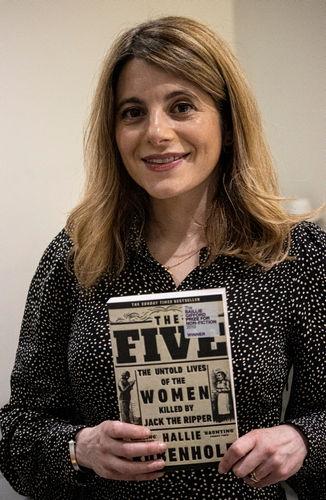 Baillie-Gifford prize winning author, Hallie Rubenhold