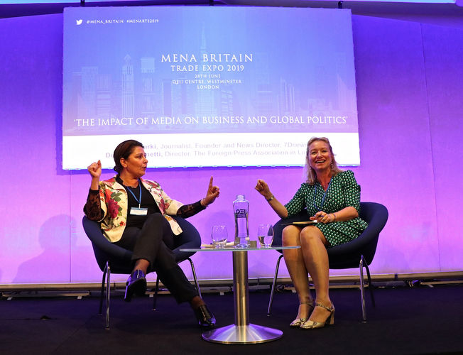 FPA Director, Deborah Bonetti, in conversation with Founder and News Director of 7D News, Nadia Turki