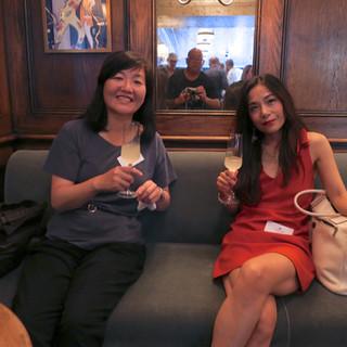 Rita YM Lam, The Standnews with Chinatsu Baba of the JiJi Press
