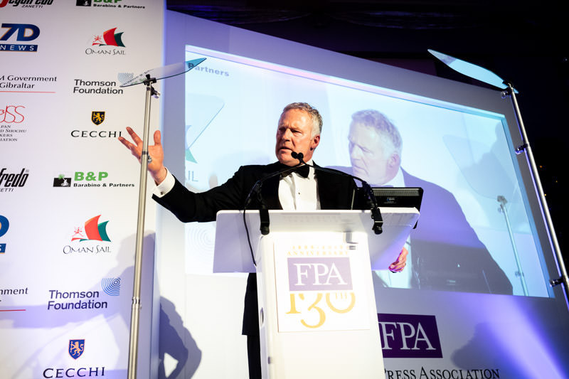 Rory Bremner on FPA stage