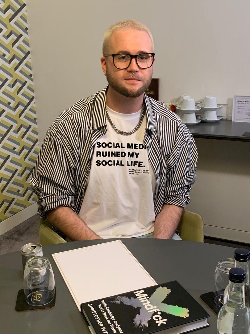"""Social Media Ruined My Life"" T-shirt"