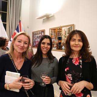 Deborah Bonetti with Noy Moshe and Francesca Bottari