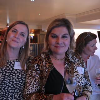 Tinne Hjersing, DR with Benedicte Paviot of France24