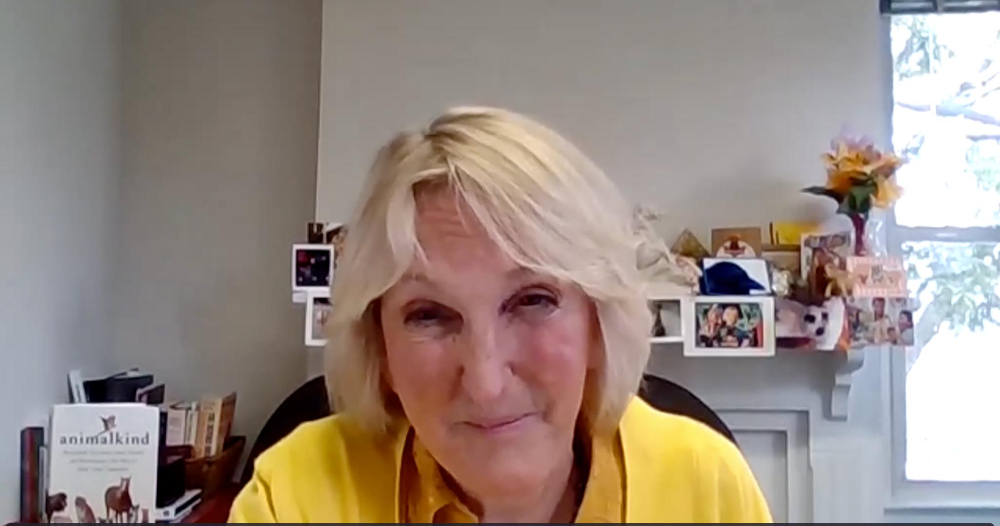 Ingrid Newkirk of PETA