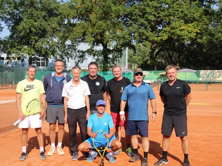 Und wieder eine kleine Sensation...Ostdeutsche Meisterschaft für die Herren 50