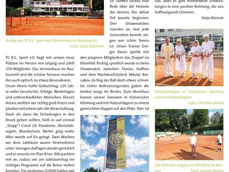 Sachsentennis 02|2020 - 125 Jahre R.C. Sport