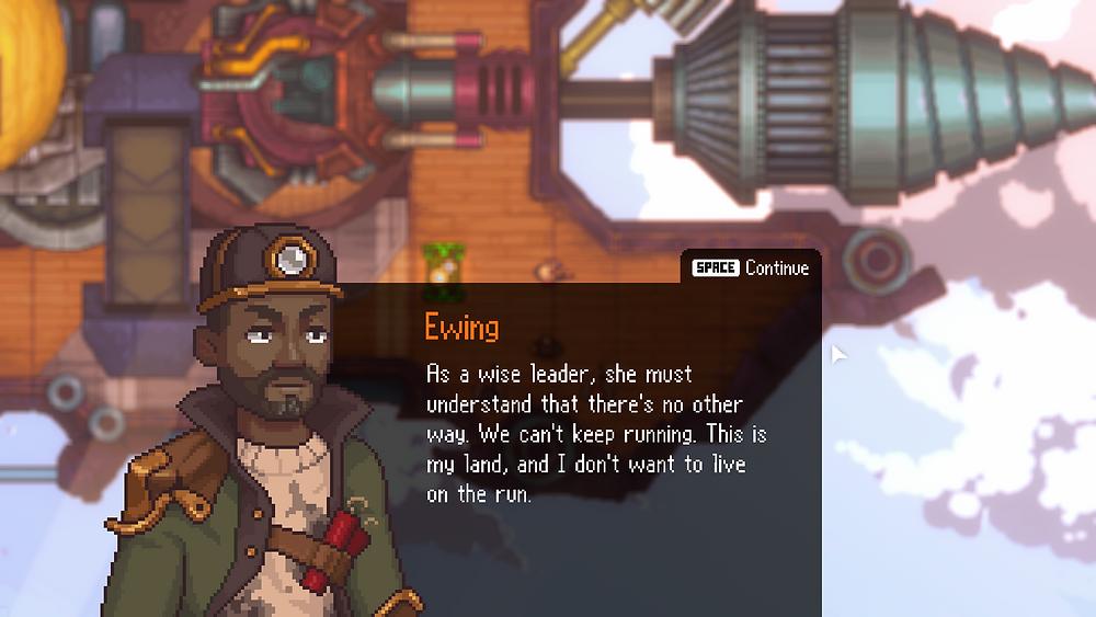 Ewing Black Skylands