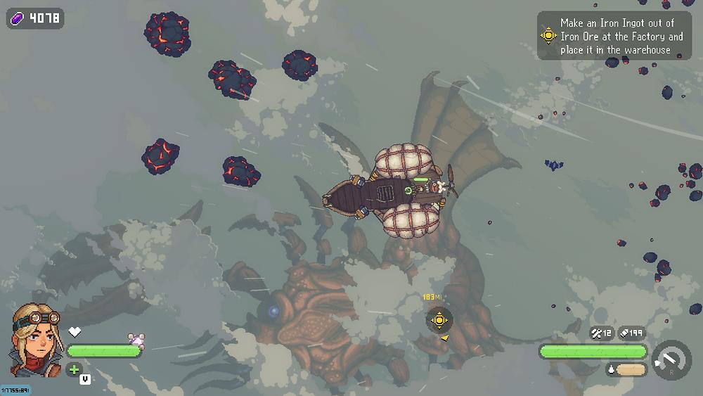 giant beast black skylands