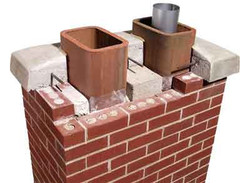 chimney-crown-brick repair