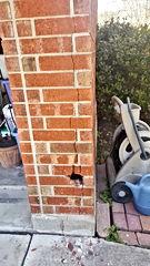 Brick Repair Before