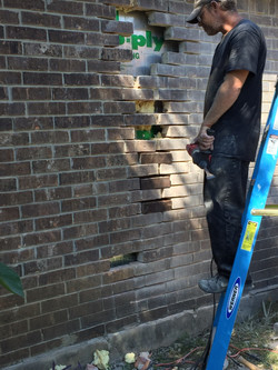 Replace Damaged Brick