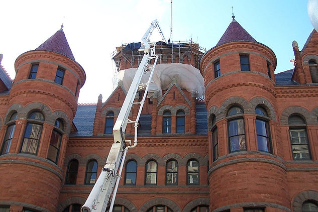 Brick Repair Dallas Court House