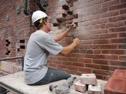 Remove Damaged Brick