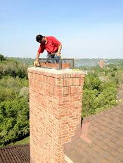 brick chimney mortar cap repair
