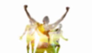 Soccer game background. Mixed media.jpg