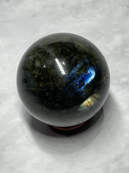 Labradorite sphere #291