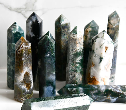 Moss Agate Tower (small)