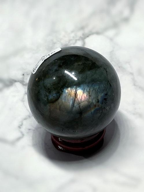 Labradorite sphere #290