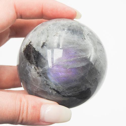 Purple Labradorite Sphere