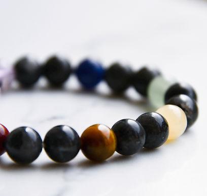 Chakra Stretch Bracelet