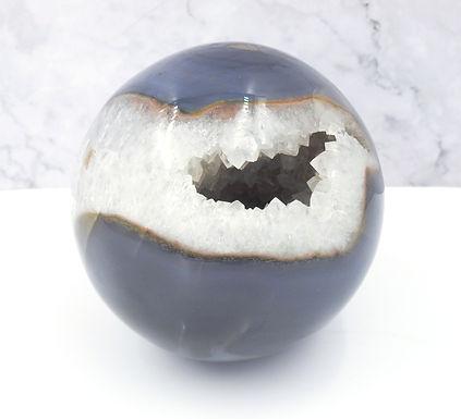 Agate Druzy Sphere XL