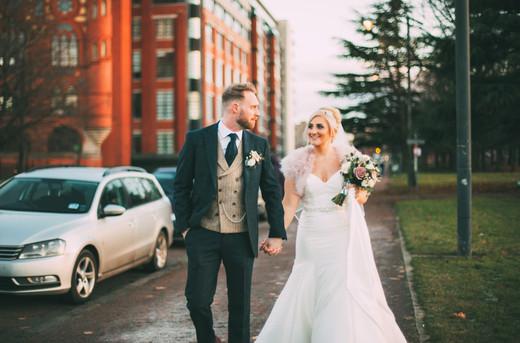 Scottish City Wedding Flowers