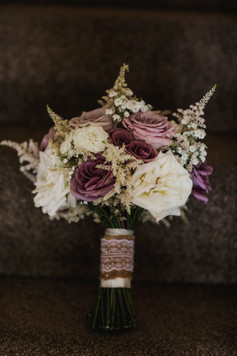 Melrose Abbey Wedding - Country Wedding Flowers - Bridal Bouquet - Scottish Borders