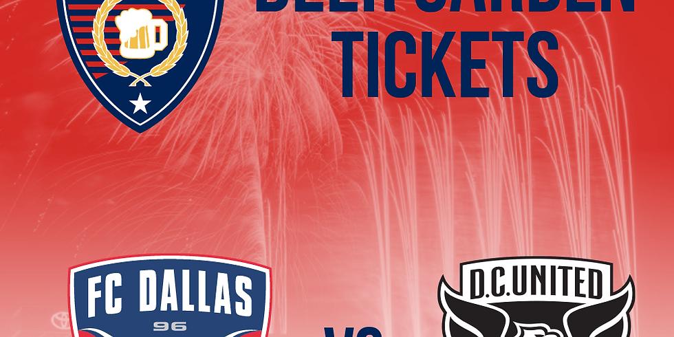 FC Dallas VS DC United - Fireworks (1)