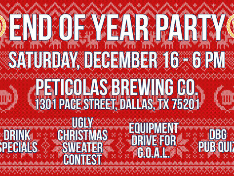 Join us at the DBG End of Year Party!