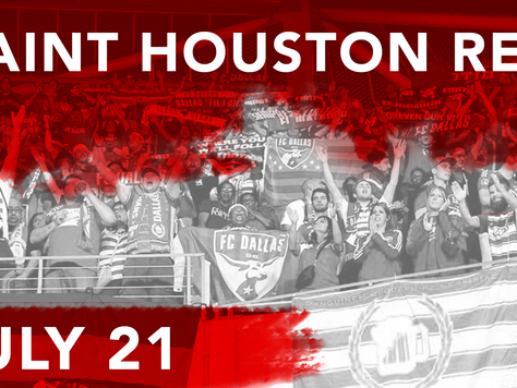 UPDATED: Dallas Heads to Houston