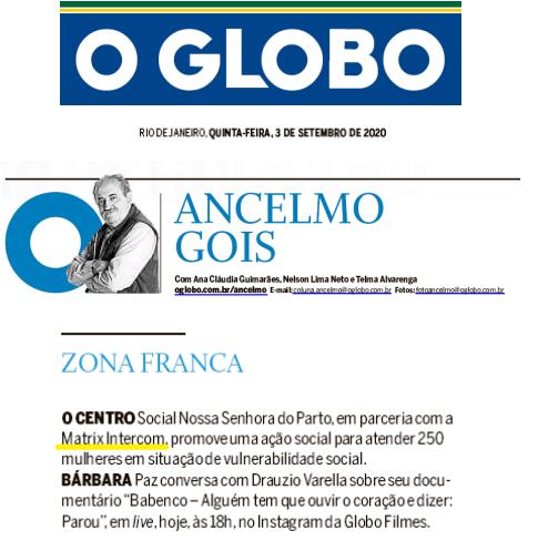 Matrix por Ancelmo Gois