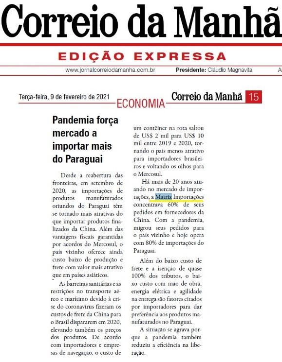 Paraguai é atrativo para importações