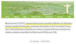 Matrix por Lu Lacerda
