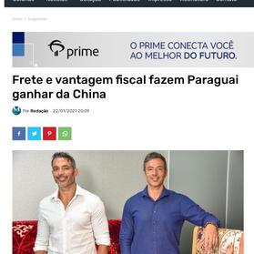Sócios Leandro e Leonardo Martins de Almeida dão entrevista para Monitor Mercantil