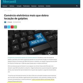e-Commerce aquece mercado de galpões