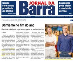 Matrix é destaque no Jornal da Barra