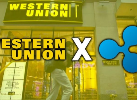 Western Union considering the use of Ripple #XRP