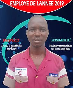 Employe de l'annee 2019_Clinique_Docteur_Boum