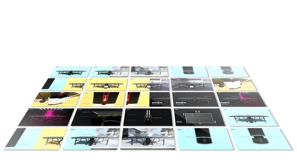 landing page - web design - UX UI - animation - CGI