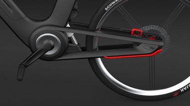 Render Bike Hub Design mobility